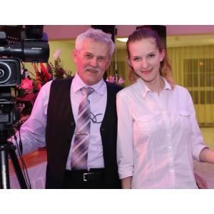 Jozef Kučerka a vnučka Monika
